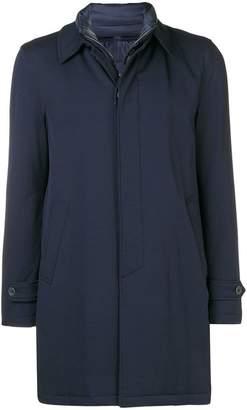 Herno hidden zip coat