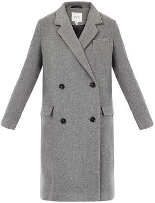 Dagmar Jolie Grey Double-Breasted Coat