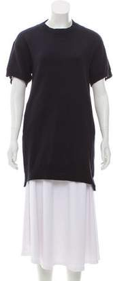 Sacai Luck Short Sleeve Mini Dress
