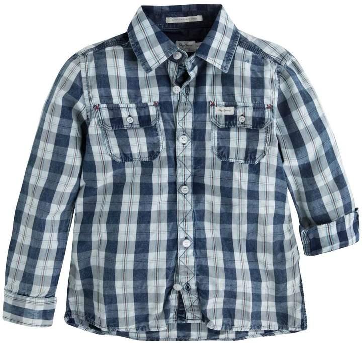 Pepe Jeans London Stanley - Langärmliges Hemd - blau