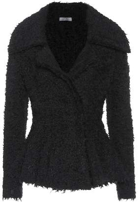 Alexander McQueen Mohair-blend jacket