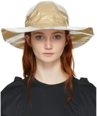 Comme des Garcons Beige Shirt Bucket Hat