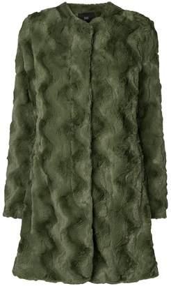 Steffen Schraut faux fur coat