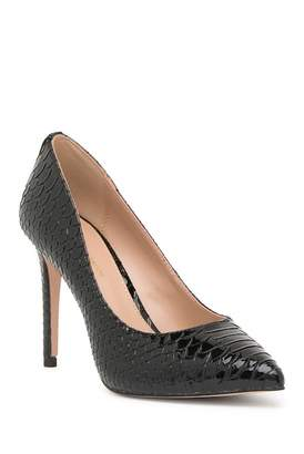 BCBGeneration Heidi Snake Embossed Stiletto