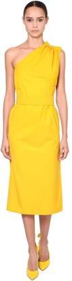 Max Mara Asymmetrical Cotton Poplin Dress
