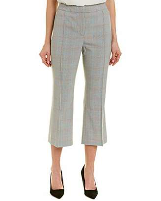 T Tahari Women's Aria Plaid Suiting Pant