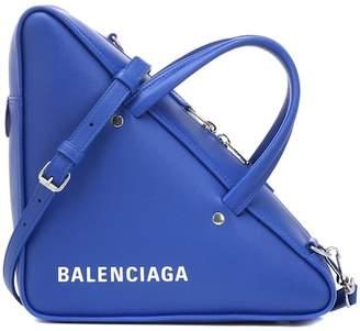 Balenciaga Triangle Duffle S leather tote
