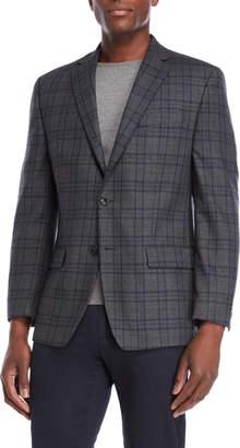 Michael Kors Grey Plaid Sport Coat