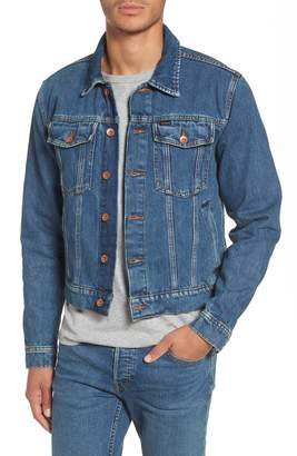 Brixton Cable Denim Trucker Jacket