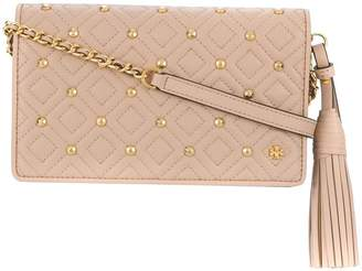 Tory Burch fleming stud chain wallet