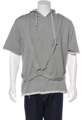Galliano Graphic Cutoff Sweatshirt w/ Tags