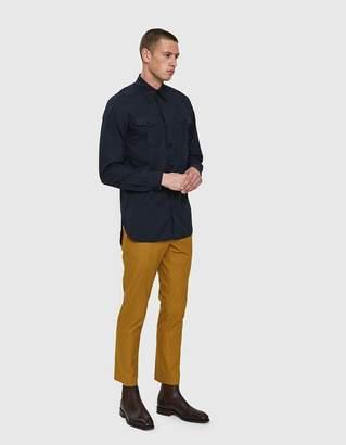 Dries Van Noten Short Trouser in Yellow
