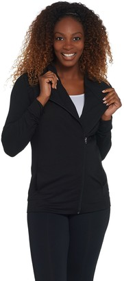 Susan Lucci Collection Long Sleeve Moto Jacket