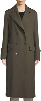 A.L.C. Lisbon Double-Breasted Wool-Blend Coat