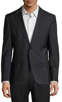 HUGO Regular-Fit Jefferys Wool Suit Jacket