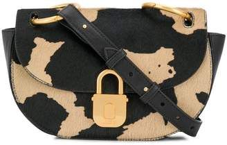 Just Cavalli cow print shoulder bag