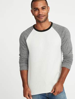 Old Navy Soft-Washed Plush-Knit Raglan Tee for Men