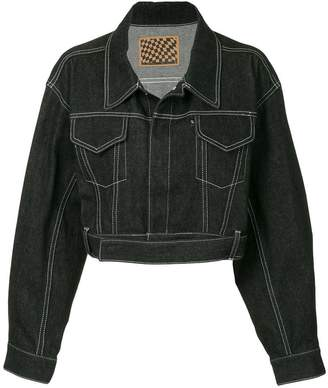 G.V.G.V. contrast stitch jacket