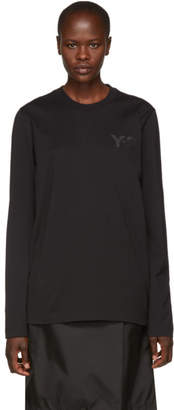 Y-3 Black CL Long Sleeve T-Shirt