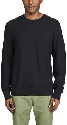 J.Crew J. Crew Cotton Garter Crew Neck Sweater