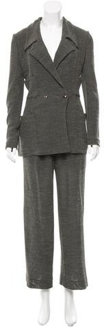 ChanelChanel Wool Knit Pantsuit