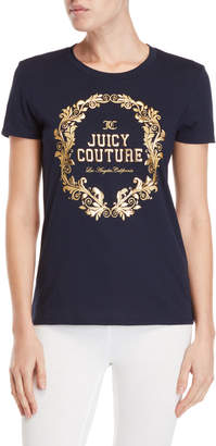 Juicy Couture Wreath Cameo Classic Tee