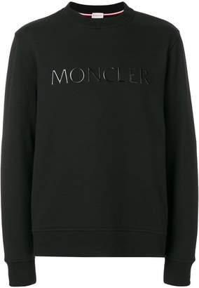 Moncler logo crew neck sweatshirt