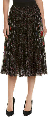 Rebecca Taylor Pleated Midi Skirt