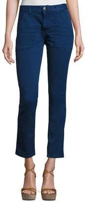 BA&SH Sally Cropped Jeans, Blue