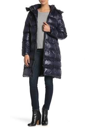 Andrew Marc Margaret Faux Fur Trim Hooded Jacket