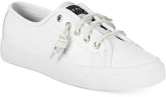 Sperry Women's Seacoast Leather Sneakers $60 thestylecure.com
