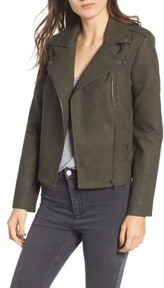 BB Dakota Easy Rider Faux Leather Moto Jacket