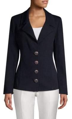 St. John Santana Long-Sleeve Jacket