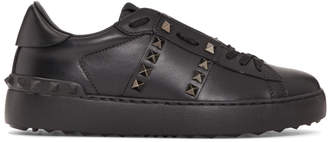 Valentino Black Garavani Rockstud Untitled 11 Sneakers