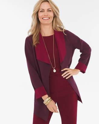 Mulberry Travelers Collection Reversible Red-Deep Merlot Jacket
