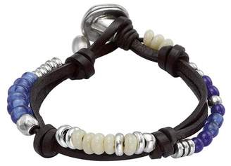 Uno de 50 Freedom Vibes Crystal Beaded Bracelet