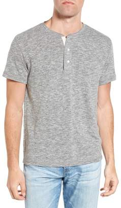 Faherty BRAND Heathered Knit Henley Tee