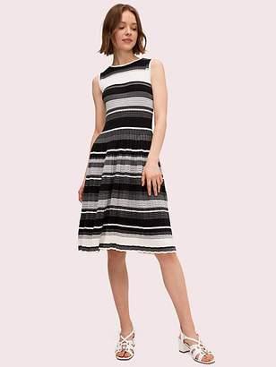 Kate Spade Striped Sweater Dress, Black - Size L