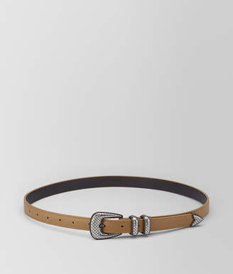 Bottega Veneta CAMEL CALF BELT
