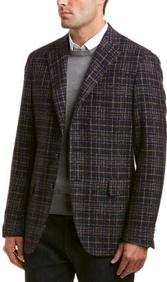 Caruso Tailored Wool-Blend Jacket