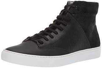 TCG Men's Premium Shoe Porter All Leather High Top Laces Sneaker