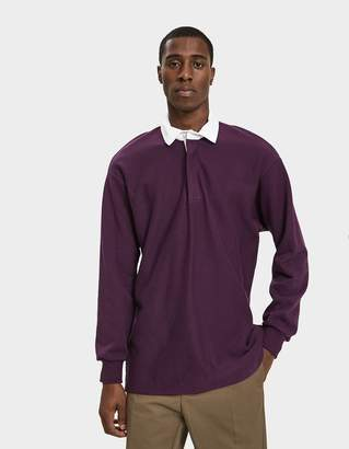 Paa L/S Rugby Shirt in Eggplant