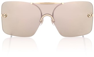 Cartier Eyewear Collection Panthere de square sunglasses
