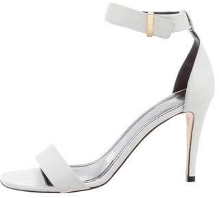 Celine Leather Buckle Sandals