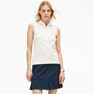 Lacoste Women's Stretch Mini Pique Polo Shirt