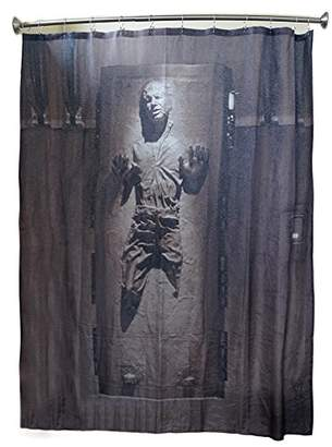 Star Wars Robe Factory Han Solo in Carbonite Shower Curtain