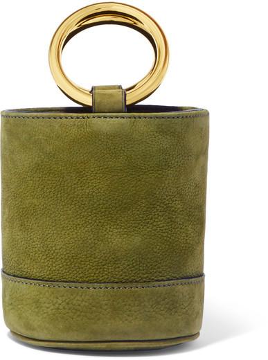 Simon Miller - Bonsai 15 Mini Nubuck Bucket Bag - Green