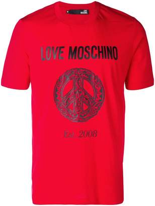 Love Moschino Love Peace T-shirt