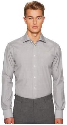 Eton Slim Fit Micro Bulldog Shirt Men's Clothing
