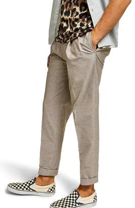 Topman Topshop Tapered Fit Trousers